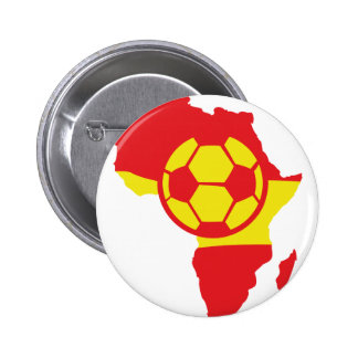 Afrika-Formspanien-Fußballflagge Anstecknadelbuttons