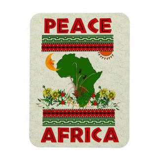Afrika-Frieden Rechteckige Magnete