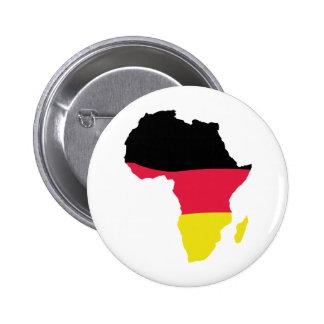Afrika-Ikonendeutschflagge Runder Button 5,1 Cm
