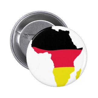 Afrika-Ikonendeutschflagge Runder Button 5,7 Cm