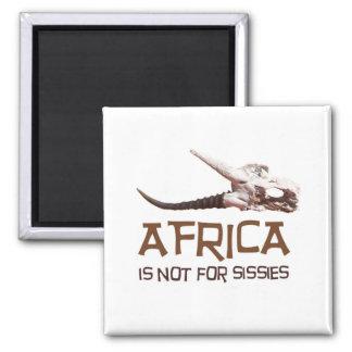 Afrika ist nicht für Weichlinge: Afrikanischer Quadratischer Magnet