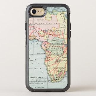 AFRIKA: KARTE, 1894 OtterBox SYMMETRY iPhone 8/7 HÜLLE