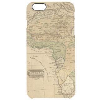 Afrika-Karte durch Worcester Durchsichtige iPhone 6 Plus Hülle