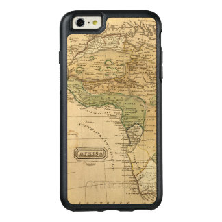 Afrika-Karte durch Worcester OtterBox iPhone 6/6s Plus Hülle
