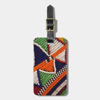 Afrika, Kenia. Maasai Stammes- Perlen Gepäckanhänger