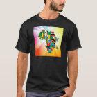 Afrika-Kontinent-Flaggen-Karte 2 T-Shirt