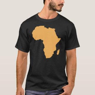Afrika-Kontinent-Kontur-T - Shirt