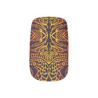 Afrika Minx Nagelkunst