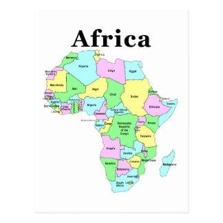 Afrika - politische Karte