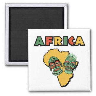 Afrika Quadratischer Magnet