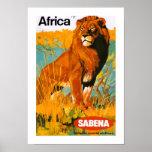 Afrika ~ Sabena Plakate