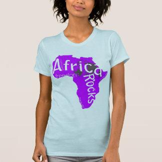 Afrika schaukelt das T-Stück der Frauen T-Shirt