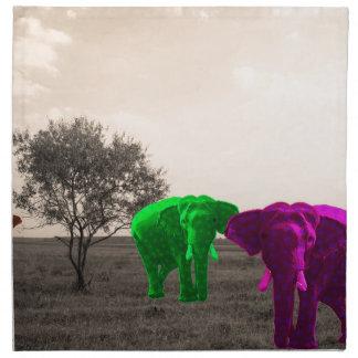 Afrika Stoffserviette