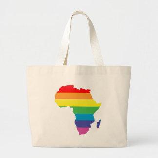 Afrika-Stolz Jumbo Stoffbeutel