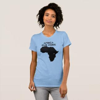 Afrika unser Zuhause-Karten-Shirt T-Shirt