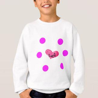 Afrikaans-Sprache des Liebe-Entwurfs Sweatshirt