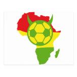 Afrikafußballteufel 2010 postkarten