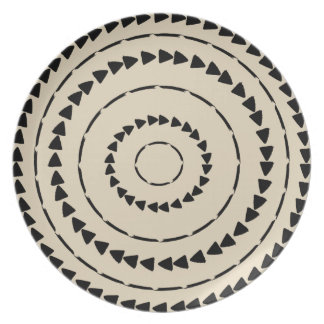 Afrikaner Boho Sammlung - Schlamm-Stoff Teller