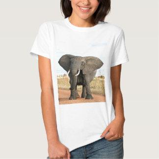 Afrikaner-Bush-Elefant, der zum Erfolgsziel marsch T-shirt