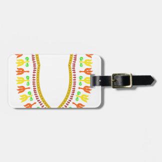 Afrikaner Dashiki Boubou Halskette - wärmen Sie Gepäckanhänger