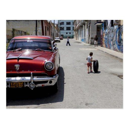 Afrikaner Hamel Bezirk, Havana, Kuba, UNESCO Postkarten