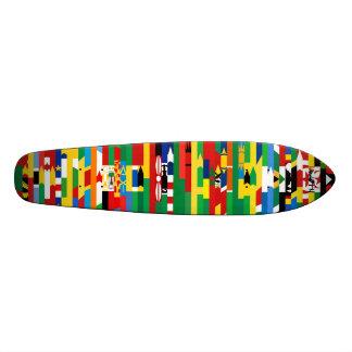 Afrikaner kennzeichnet Skateboard Personalisiertes Deck