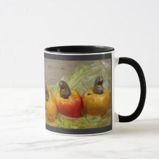 Afrikanische Acajounuss-Frucht-Tasse Tasse