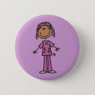 Afrikanische amerikanische runder button 5,1 cm