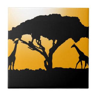 Afrikanische Art Fliese