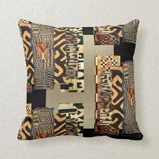 Afrikanische Art-Motiv-Grafik Kissen