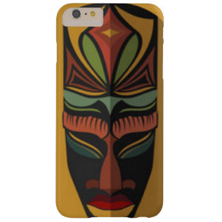 Afrikanische bunte Maske Barely There iPhone 6 Plus Hülle