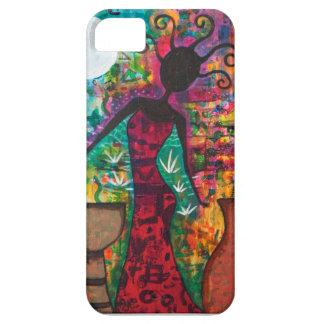 Afrikanische Dame Phone Case Schutzhülle Fürs iPhone 5