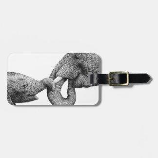Afrikanische Elefant-Gepäckanhänger