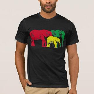 Afrikanische Elefanten durch Brad Scott T-Shirt