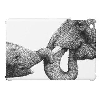 Afrikanische Elefanten iPad Mini Hülle