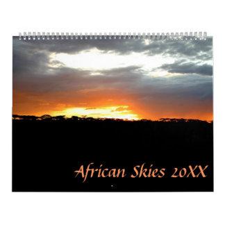 Afrikanische Himmel Kalender