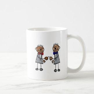 Afrikanische homosexuelle Paare Kaffeetasse