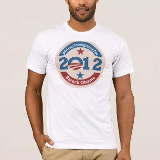 Afrikanische Immigranten für Barack Obama T-Shirt