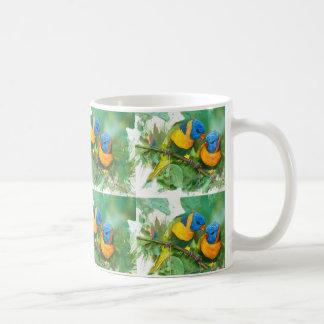 Afrikanische Papageien Kaffeetasse