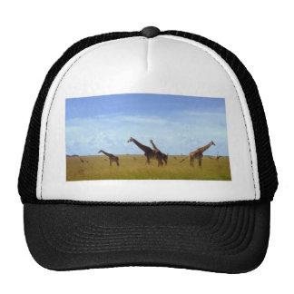 Afrikanische Safari-Giraffen Netzmütze