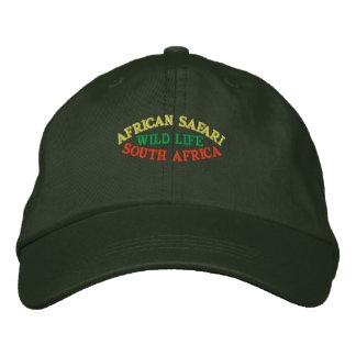 AFRIKANISCHE SAFARI, SÜDAFRIKA BESTICKTES BASEBALLCAP