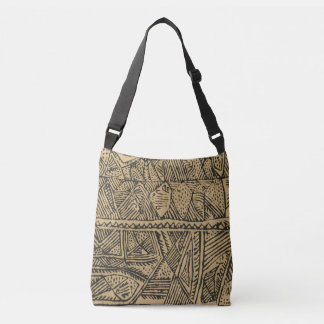 Afrikanische Stammes- Druck-Taschen-Tasche Tragetaschen Mit Langen Trägern
