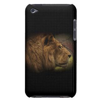 Afrikanische wilde Löwe-große Katzen-Tier-Grafik iPod Case-Mate Hüllen