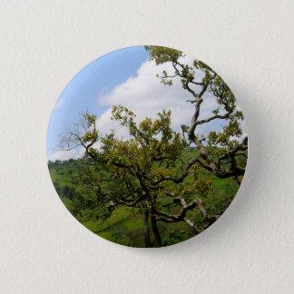 Afrikanischer Baum der Hoffnung Runder Button 5,7 Cm