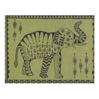 Afrikanischer Elefant Postkarte
