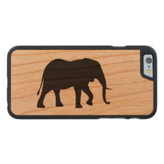 Afrikanischer Elefant-Silhouette Carved® iPhone 6 Hülle Kirsche