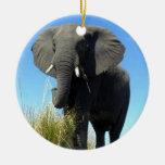 Afrikanischer Elefant-Verzierung Ornamente