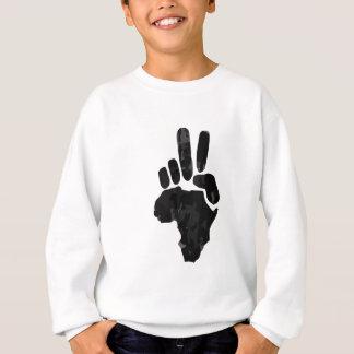 Afrikanischer Frieden Sweatshirt