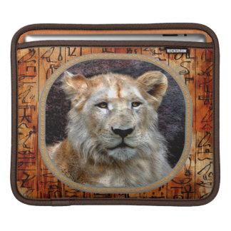 Afrikanischer Löwe gefährdete TieriPad Hülse Sleeve Für iPads