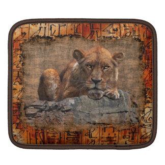 Afrikanischer Löwe gefährdete wild lebende Tiere iPad Sleeve